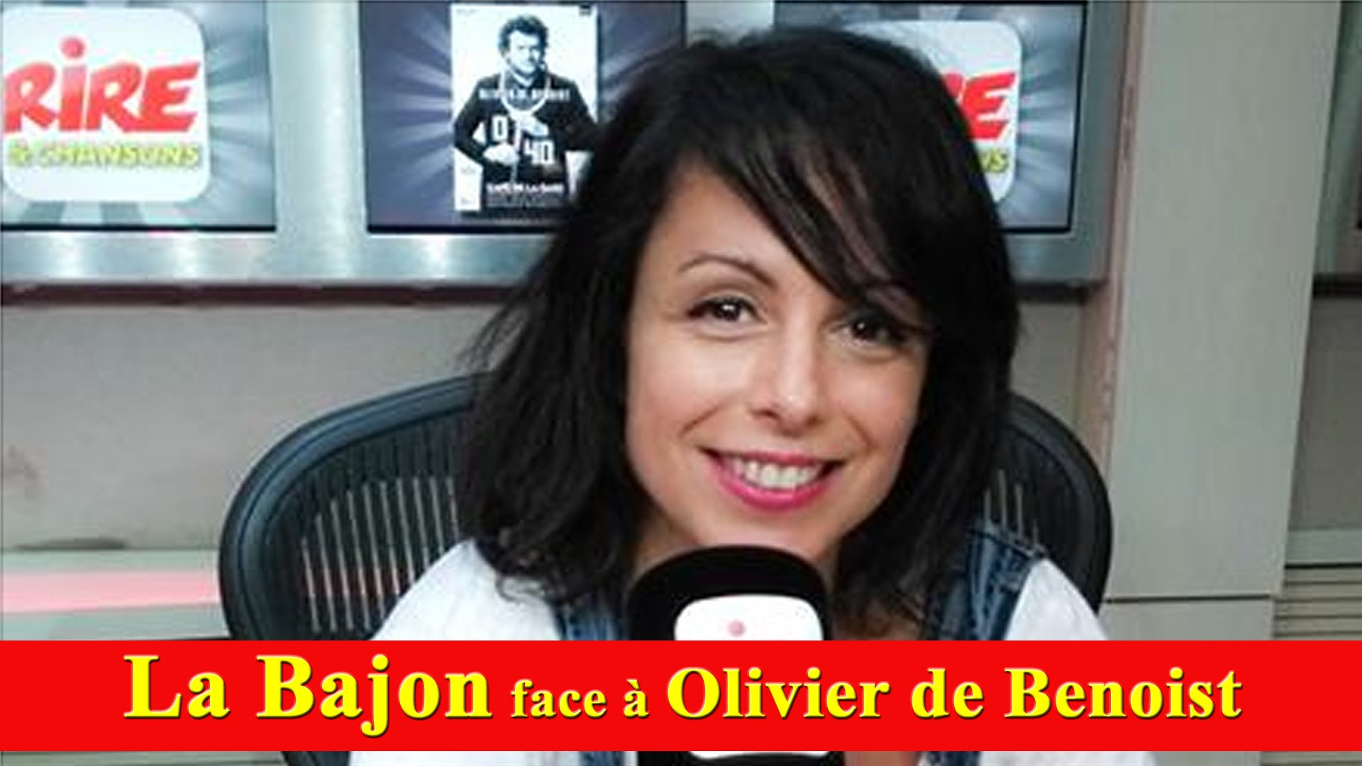 La Bajon face à Olivier de Benoist